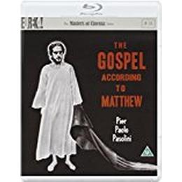 The Gospel According to Matthew [Il vangelo secondo Matteo] (1964) (Masters of Cinema) [Dual Format Blu-ray & DVD]